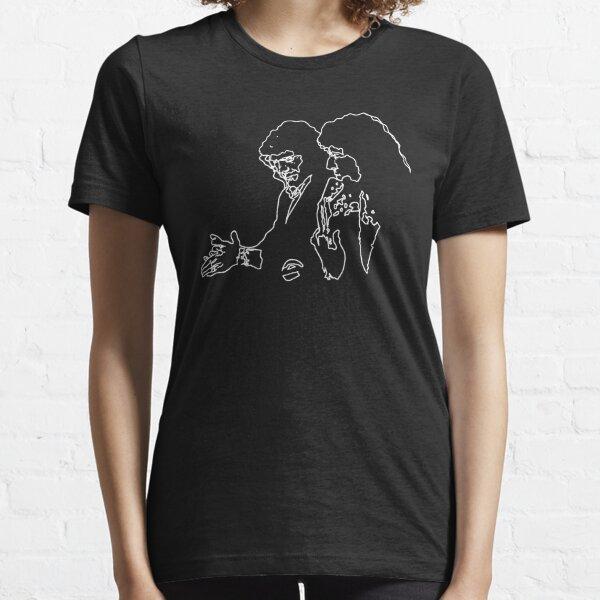 Camarón & Tomatito Minimal (White Line) Essential T-Shirt