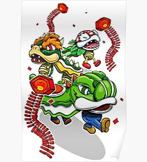 Mushroom Kingdom New Years Lion Dance Poster