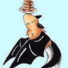 Pfannkuchen Batfish von KOKeefeArt