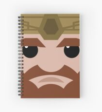 Dwarf Square Spiral Notebook