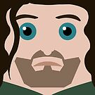 Aragorn Square by HardlyQuinn