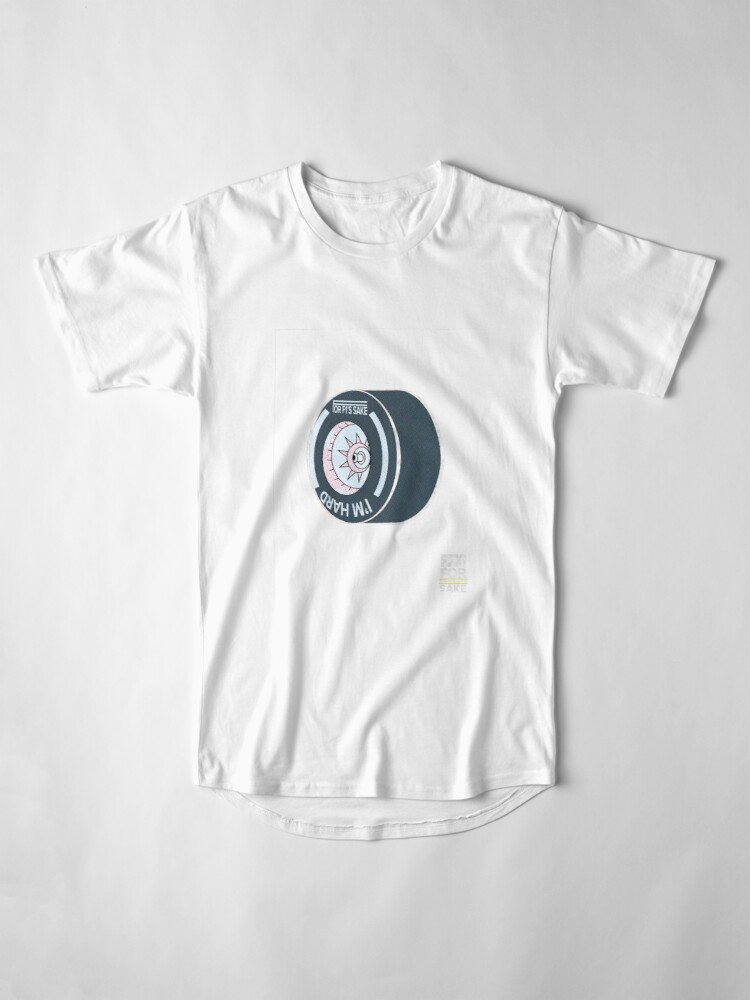 Alternate view of FF1S - I'm hard - ON DARK Long T-Shirt