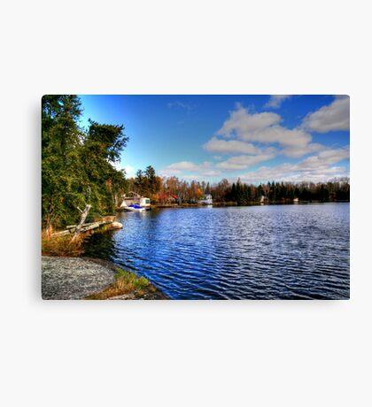 Red Rock Lake Canvas Print