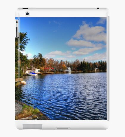 Red Rock Lake iPad Case/Skin