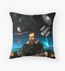 Galileo and his legacy Throw Pillow