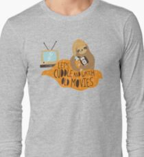 Let's Cuddle and Watch Old Movies Long Sleeve T-Shirt