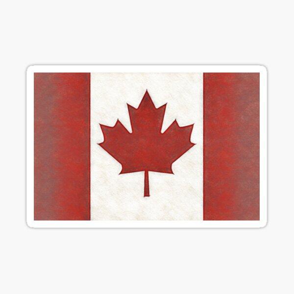 Canadian Maple Leaf Sticker