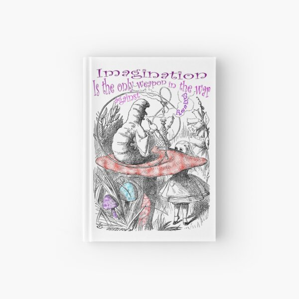 Imagination Is The Only Weapon Hardcover Journal