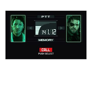 Metal Gear Solid Codec Call by Sastimasa