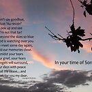 Clouds: Sympathy card by sarnia2