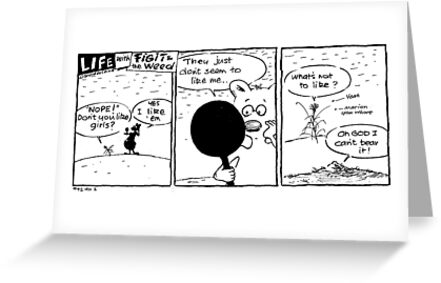"""Life with Figit and the Weed. #38. """"You Whore"""" by John Sunderland"""