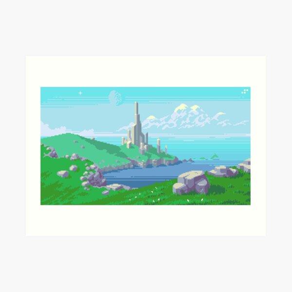 Glory Tower Art Print