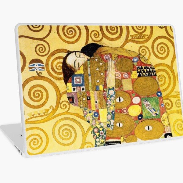 The Embrace (Fulfilment) by Gustav Klimt (1905) Laptop Skin