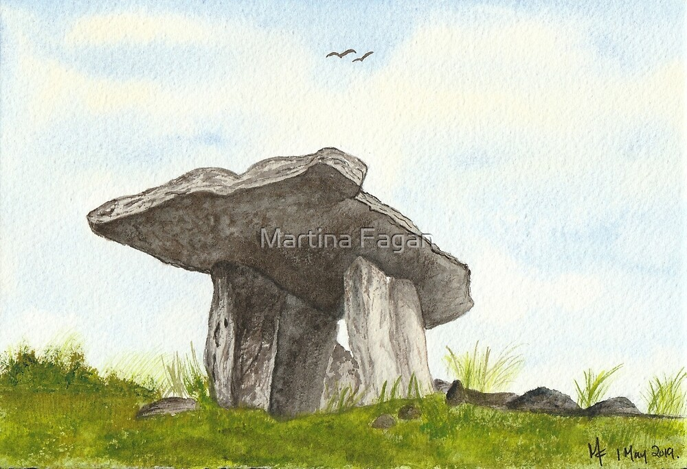 Poulnabrone Dolmen by Martina Fagan