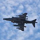 Underbelly of an AV8B Harrier by Henry Plumley
