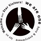 Welcome Star Visitors. We Are One!! by federicografia