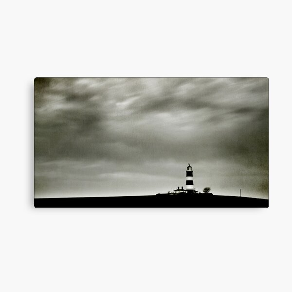 Happisburgh Lighthouse, Norfolk Canvas Print