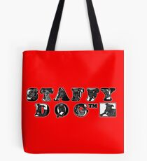 Staffy Dogs Pics in Logo Tote Bag