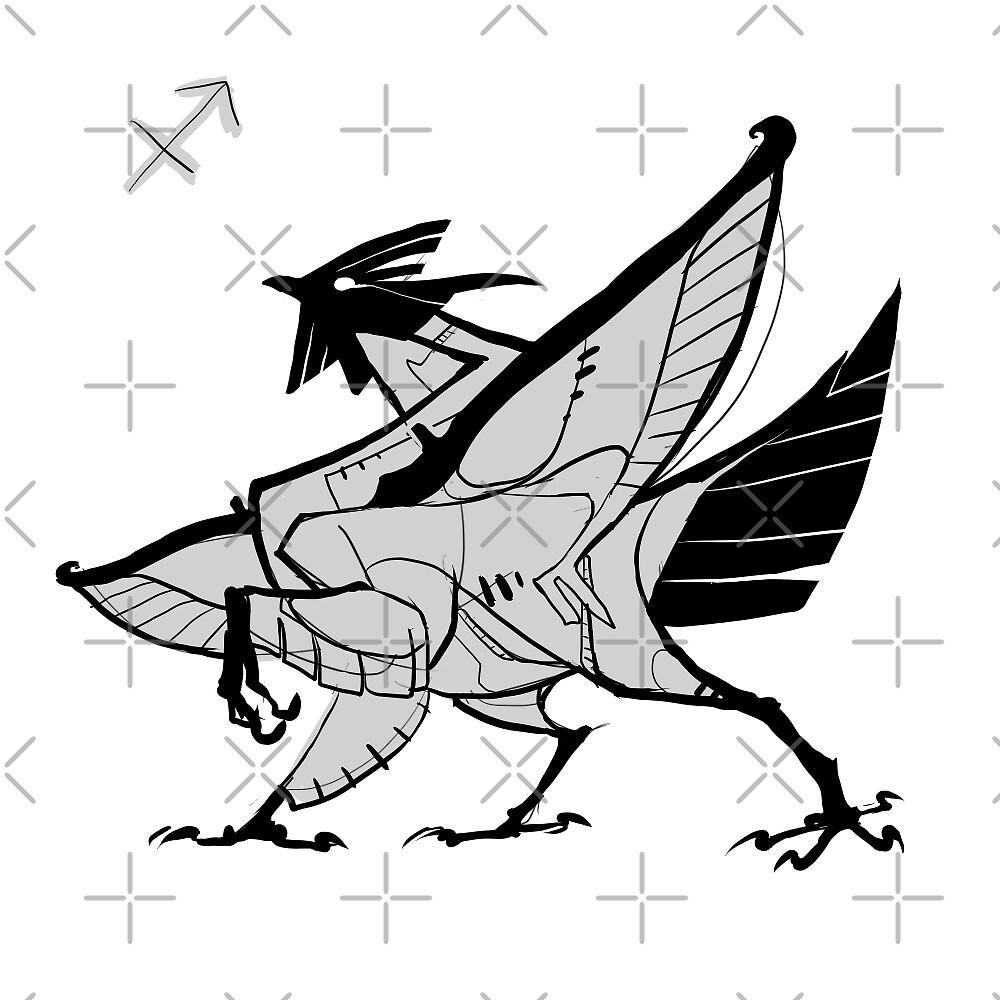 Sagittarius rooster