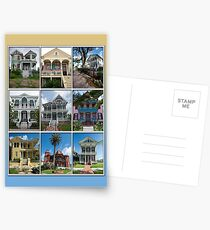 Victorian Homes of Galveston Island Postcards