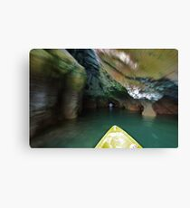 Phang Nga Delta inside the caves Canvas Print