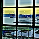 Ferry in Window by lincolngraham