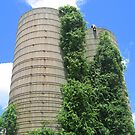 Silos from Long Ago by Debbie Robbins