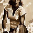 Serena Williams - Bereit zu gehen von Marlene Watson