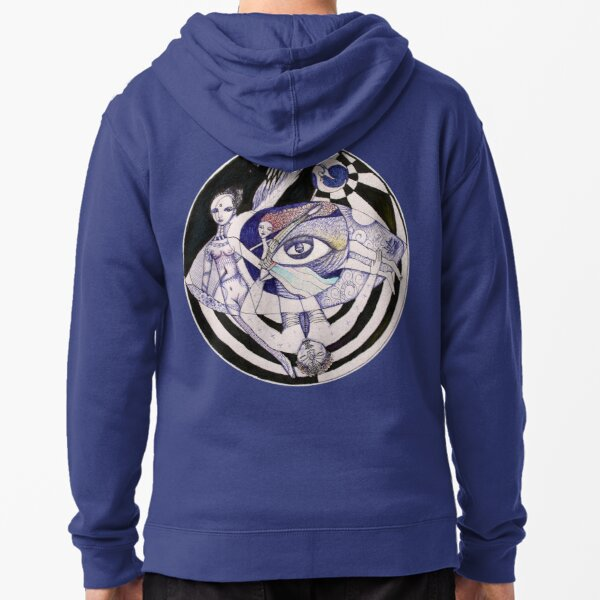 The Light Seekers Journey Zipped Hoodie