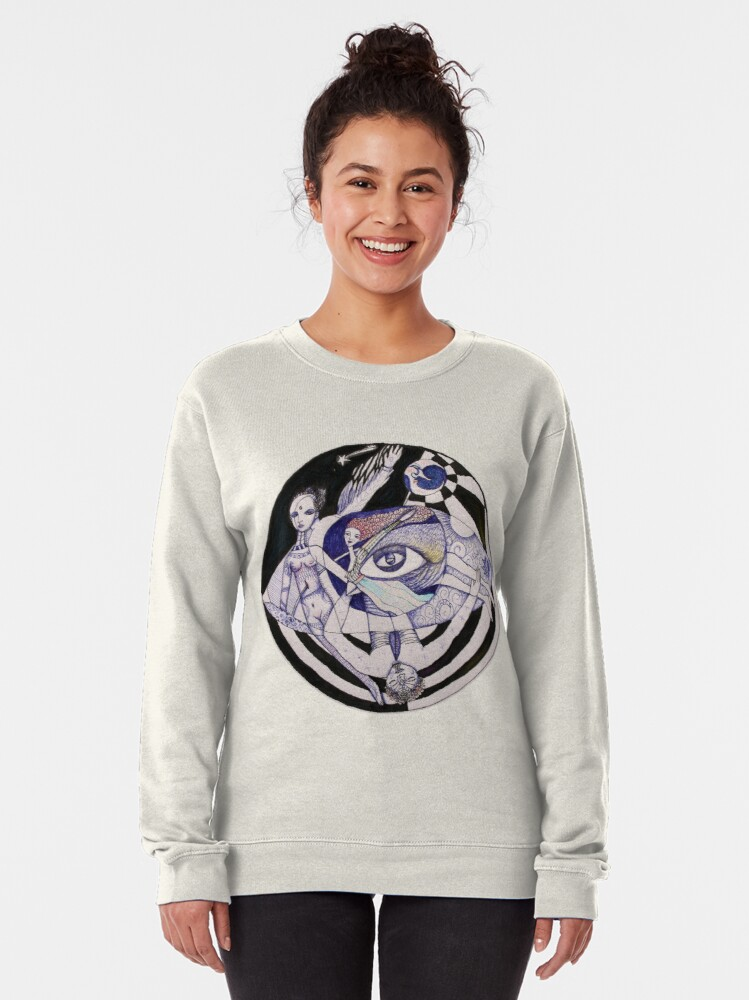 Alternate view of The Light Seekers Journey Pullover Sweatshirt