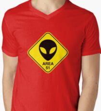 Area 51 Men's V-Neck T-Shirt
