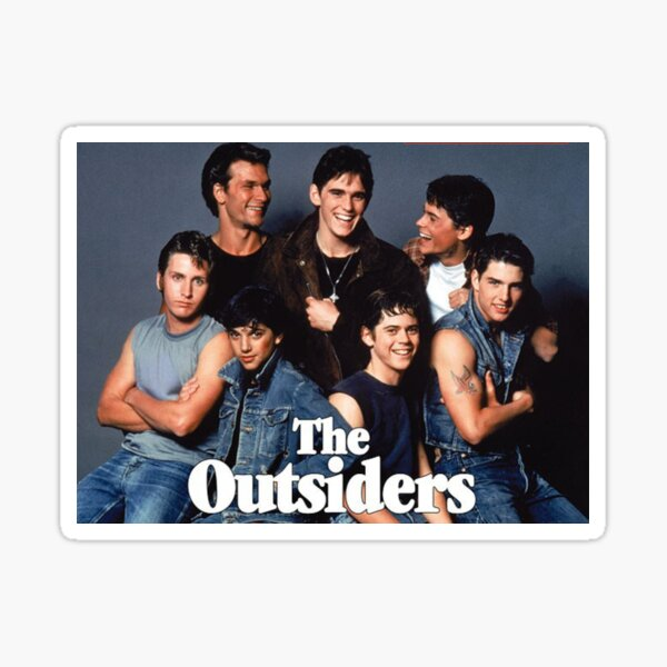 the outsiders classic Sticker