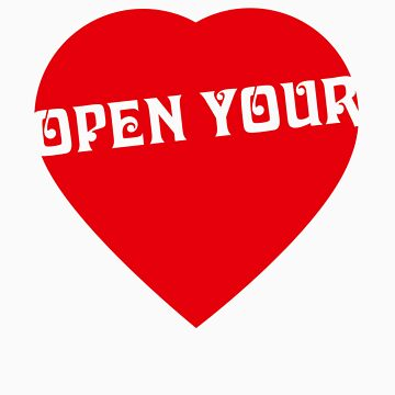 Open your Heart by federicografia