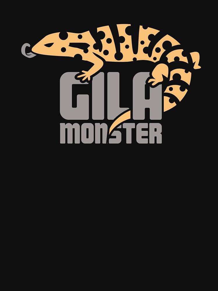 Pet Gila Monster / Eidechse Reptil Herpetologie von EMDdesign