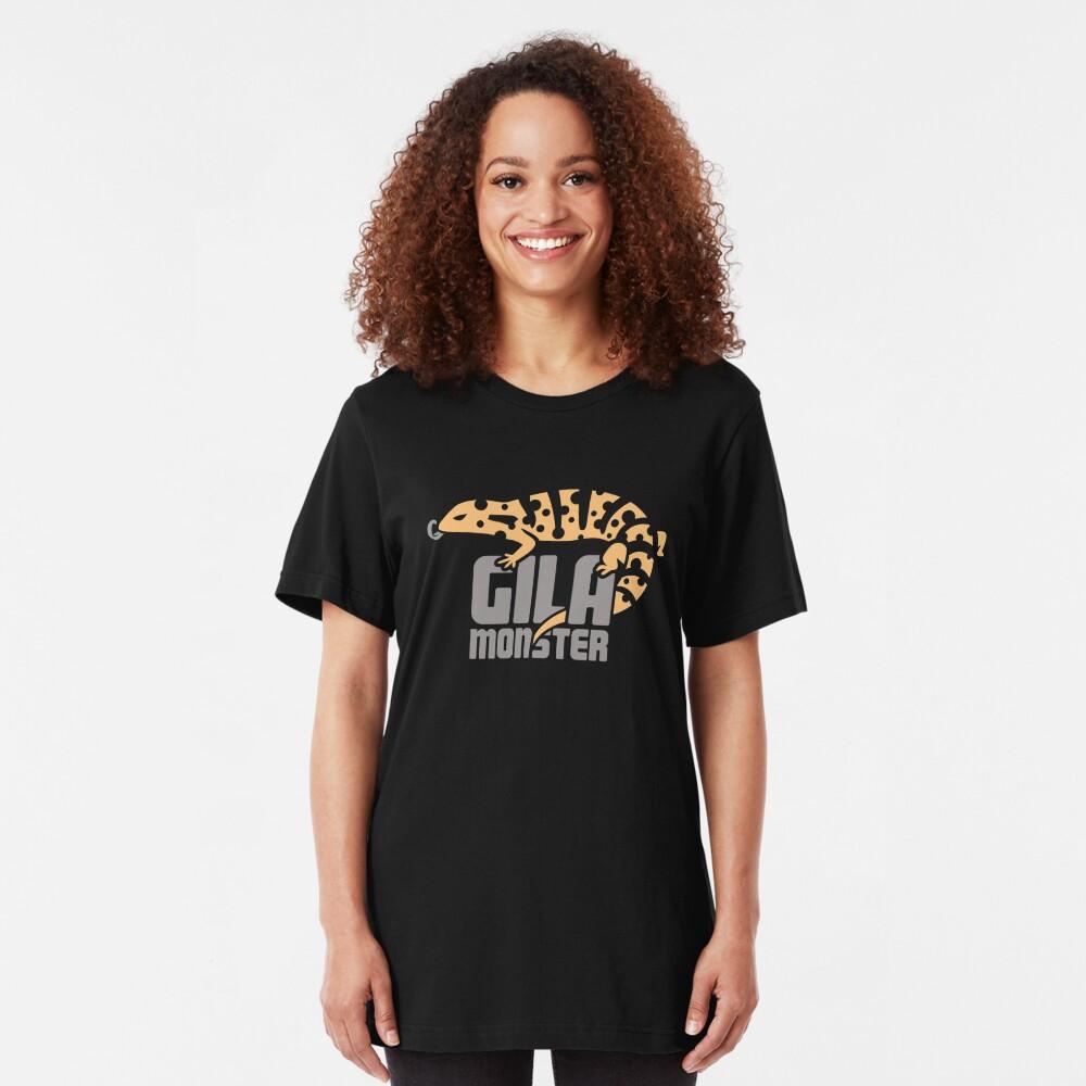 Pet Gila Monster / Eidechse Reptil Herpetologie Slim Fit T-Shirt