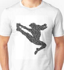 Newsies Jumper - Newspaper Filled (Inverse) Unisex T-Shirt