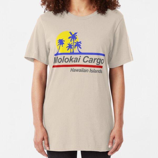 Molokai Cargo - Hard Ticket to Hawaii Slim Fit T-Shirt