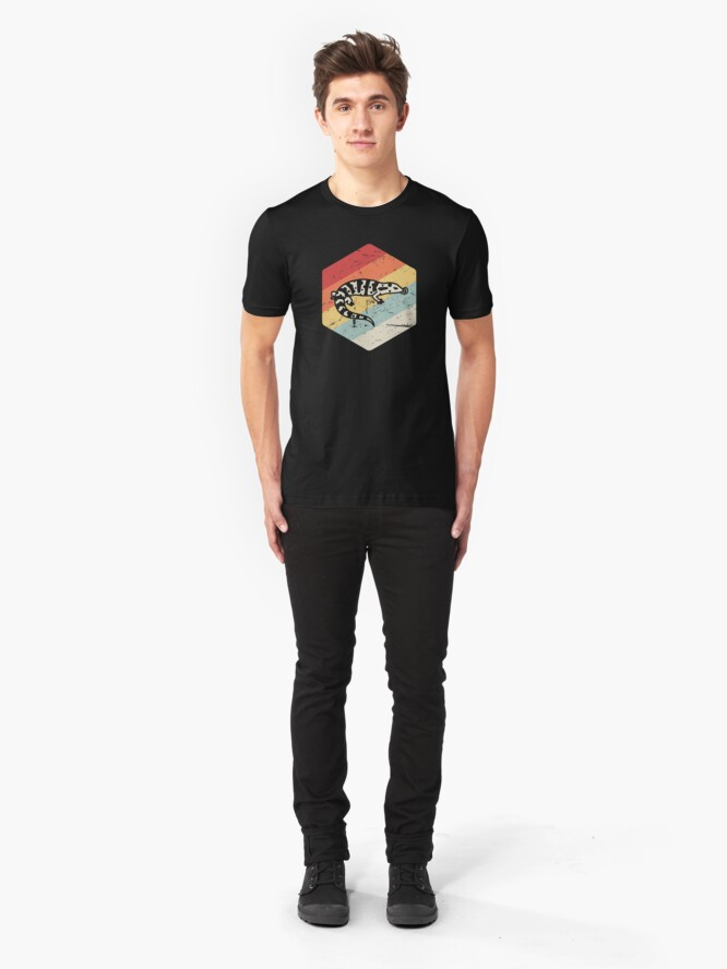 Alternative Ansicht von Haustier Gila Monster / Herpetology Lizard Reptile Slim Fit T-Shirt