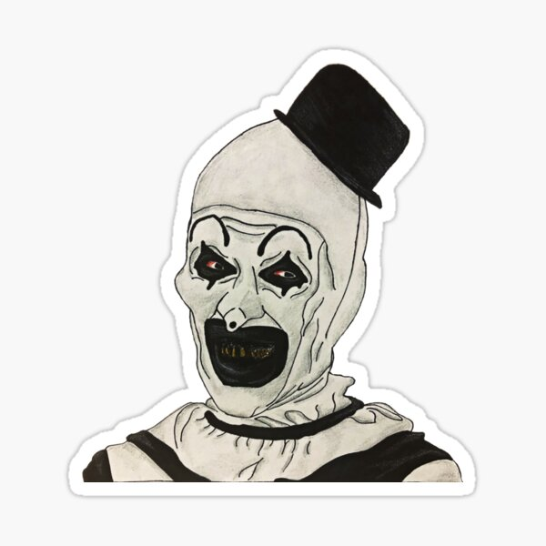 ART the Clown Sticker