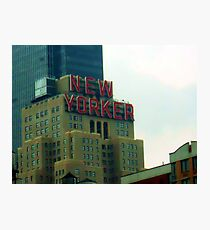 New Yorker Photographic Print