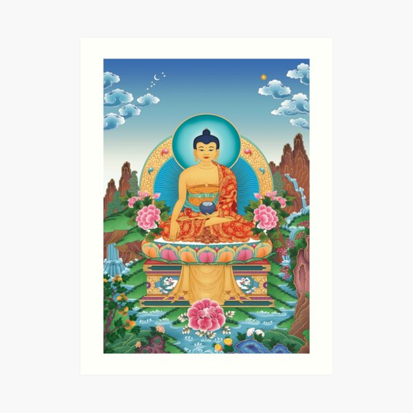 Shakyamuni Buddha Art Print