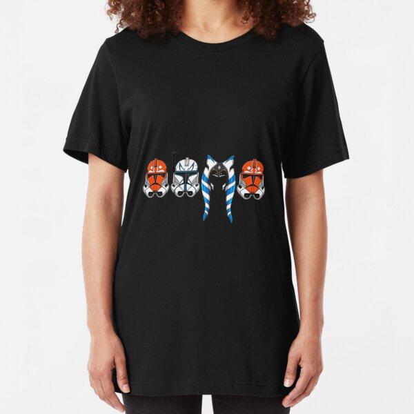 332 Star Wars Helmet Slim Fit T-Shirt