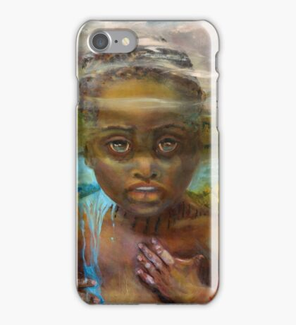 Tied to the Land (detail from Mozambique...Is it Mine?) iPhone Case/Skin