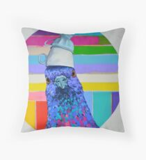 """Tea for Two for One (please)"" Throw Pillow"