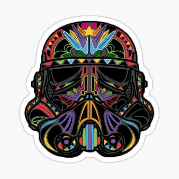 Helmet Cartoon of SW Sticker