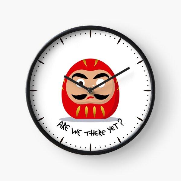 Restless Daruma - Are we there yet? Clock