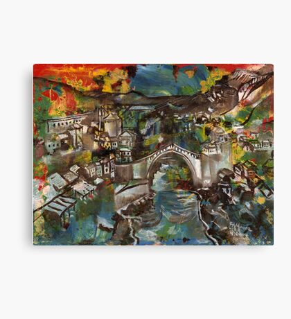 'Stari Most' - Mostar Bridge, Bosnia-Herzegovina Canvas Print