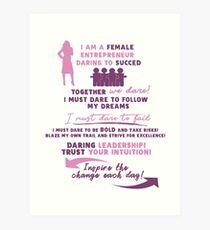 Lámina artística Mujeres emprendedoras - Mujeres de negocios