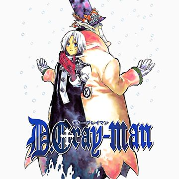 D.Gray-man by puhtar