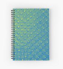 Mermaid Scales Spiral Notebook